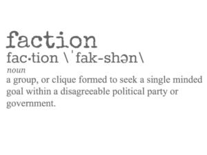 political faction