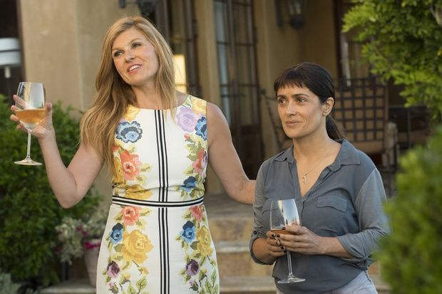Kathy (Connie Britton) and Beatriz (Salma Hayek)