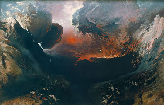 The Great Day of His Wrath, by John Martin
